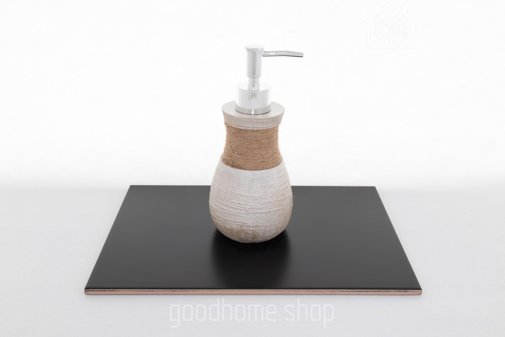 Дозатор для житкого мыла Beige crochet