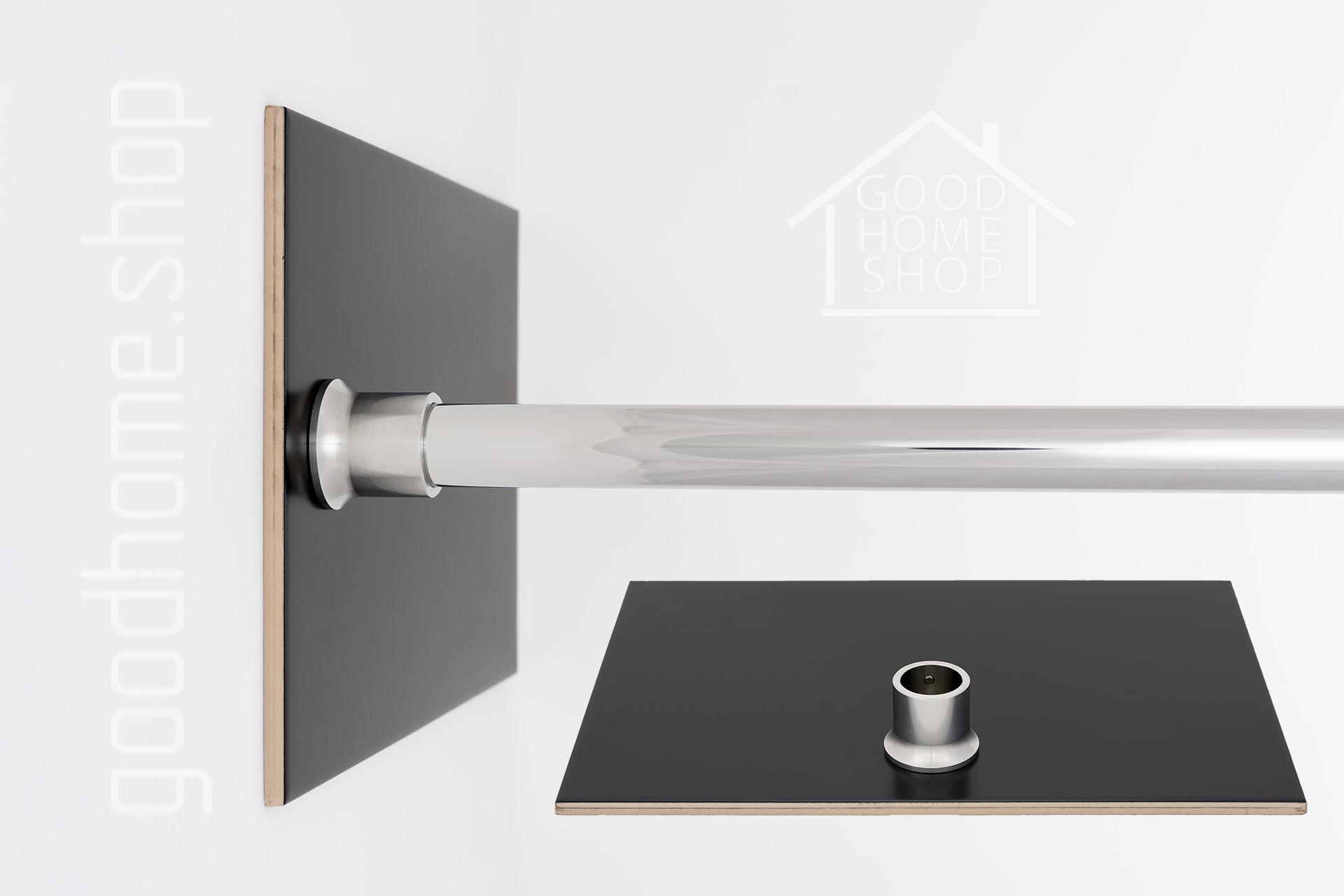 """Карниз для ванной (Штанга) """"премиум"""" Balteco Scala S1 180x120 Г-образный, угловой"""