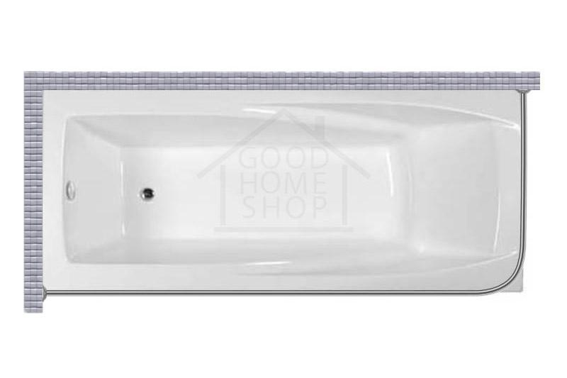 """Карниз для ванной (Штанга) """"Стандарт"""" Artel Plast Василиса 205x90 Г-образный, угловой"""