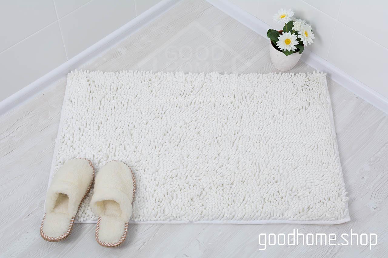 Коврик для ванной Люкс белый