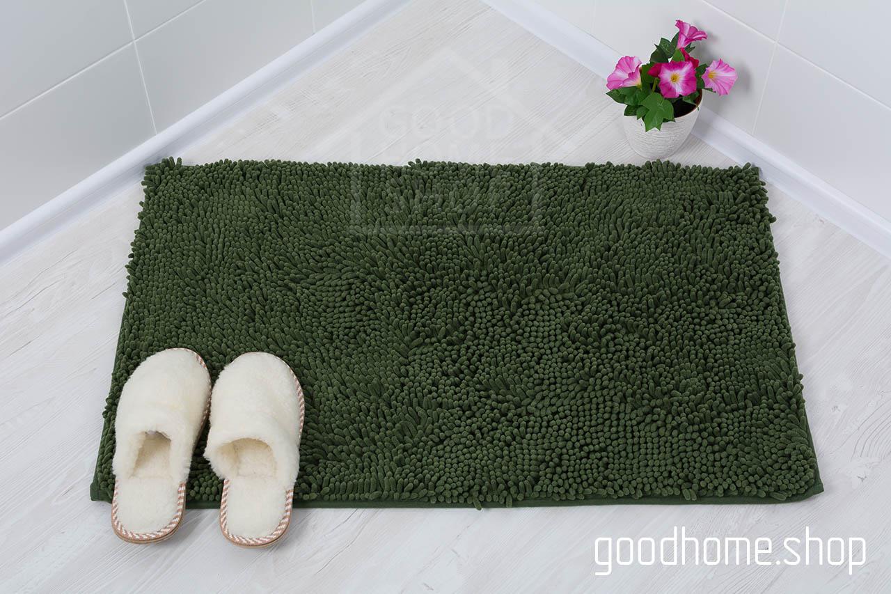 Коврик для ванной Люкс зеленый