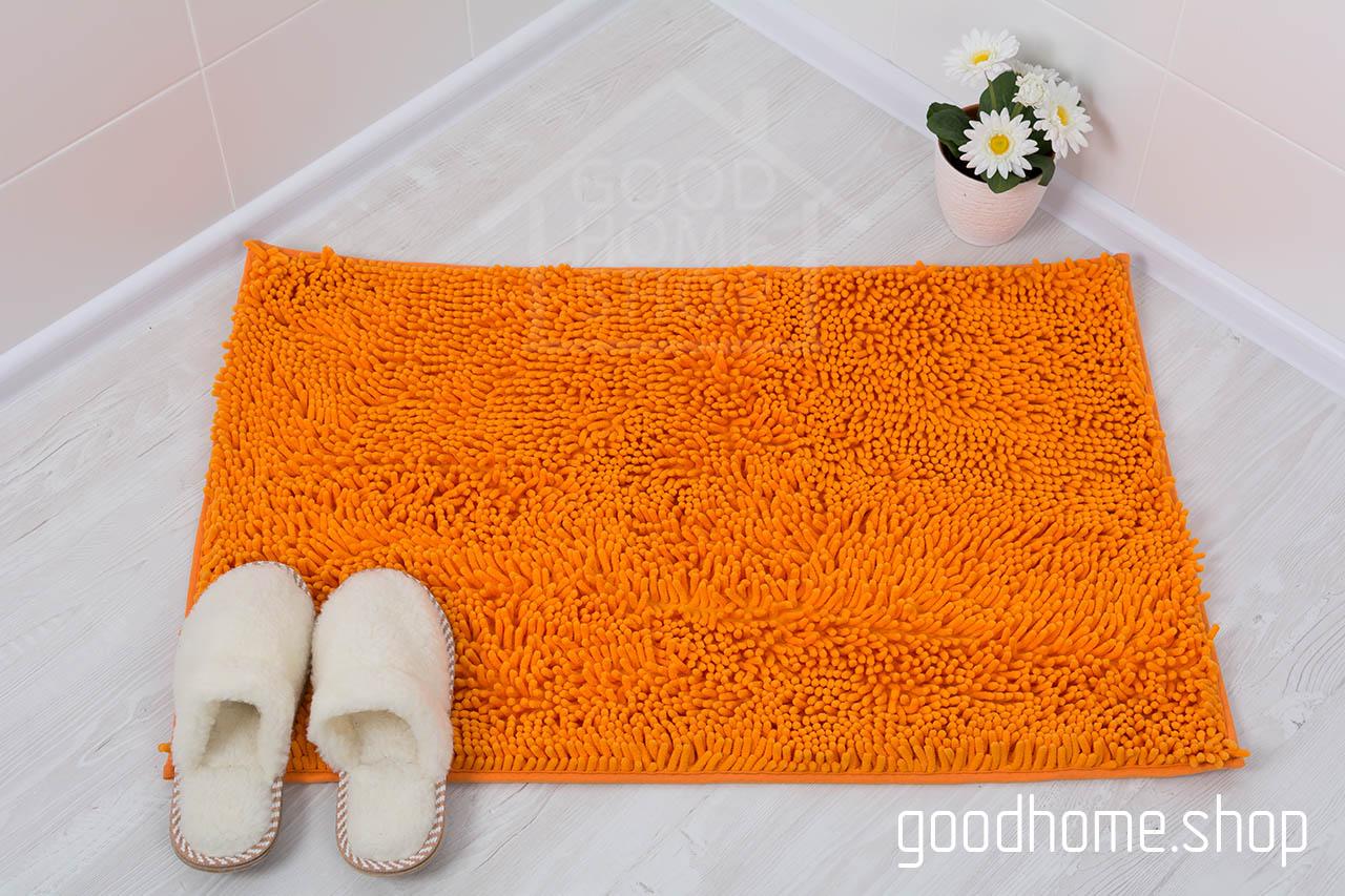 Коврик для ванной Люкс оранжевый