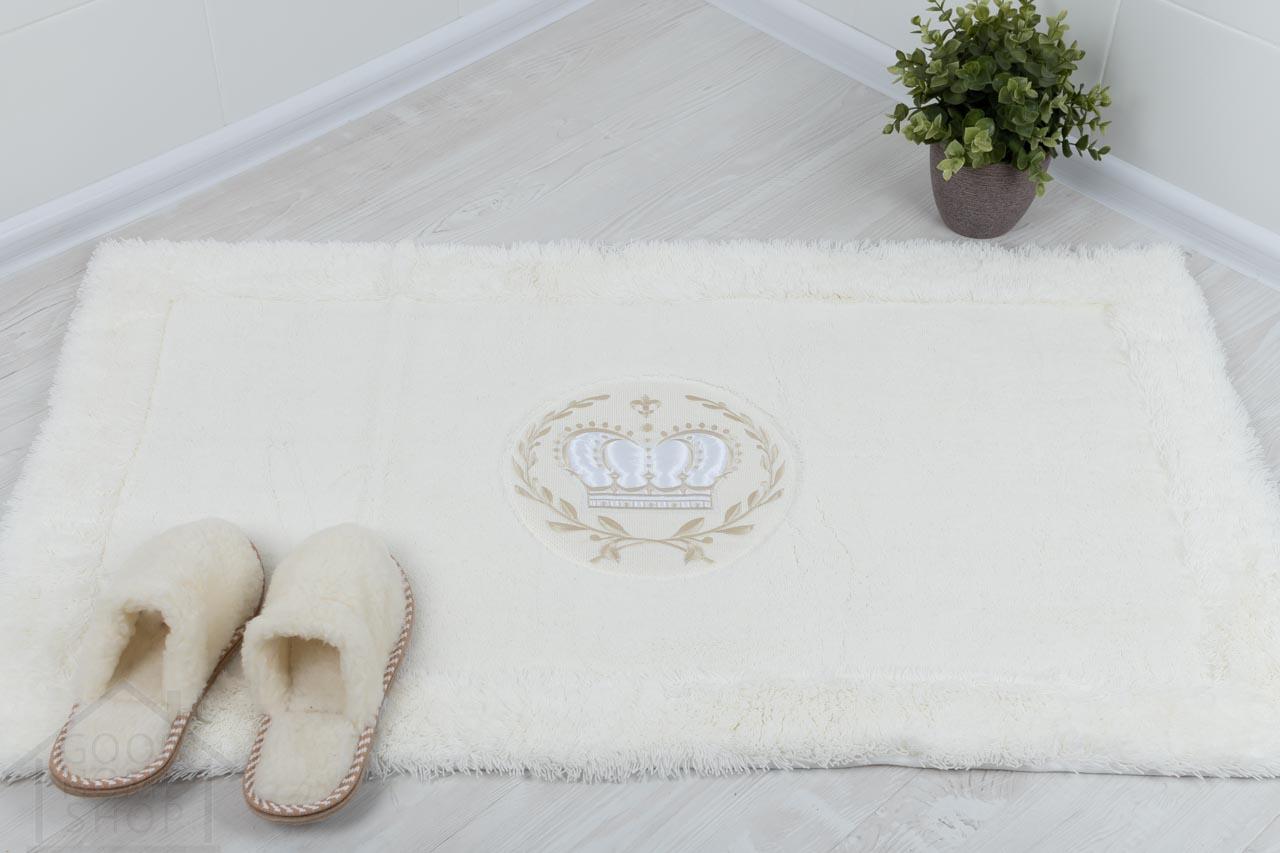 Коврик для ванной Роял белый
