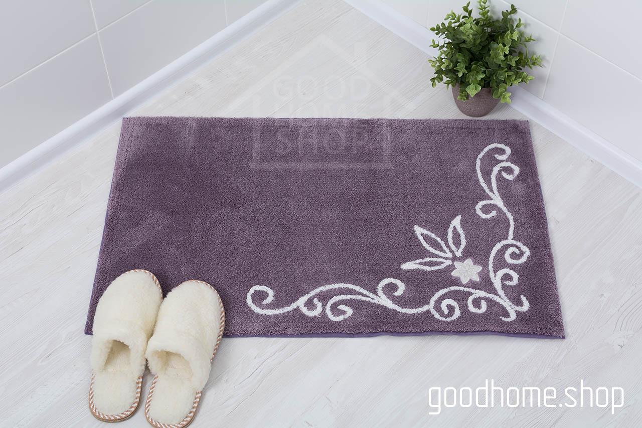 Коврик для ванной Акрил лиловый