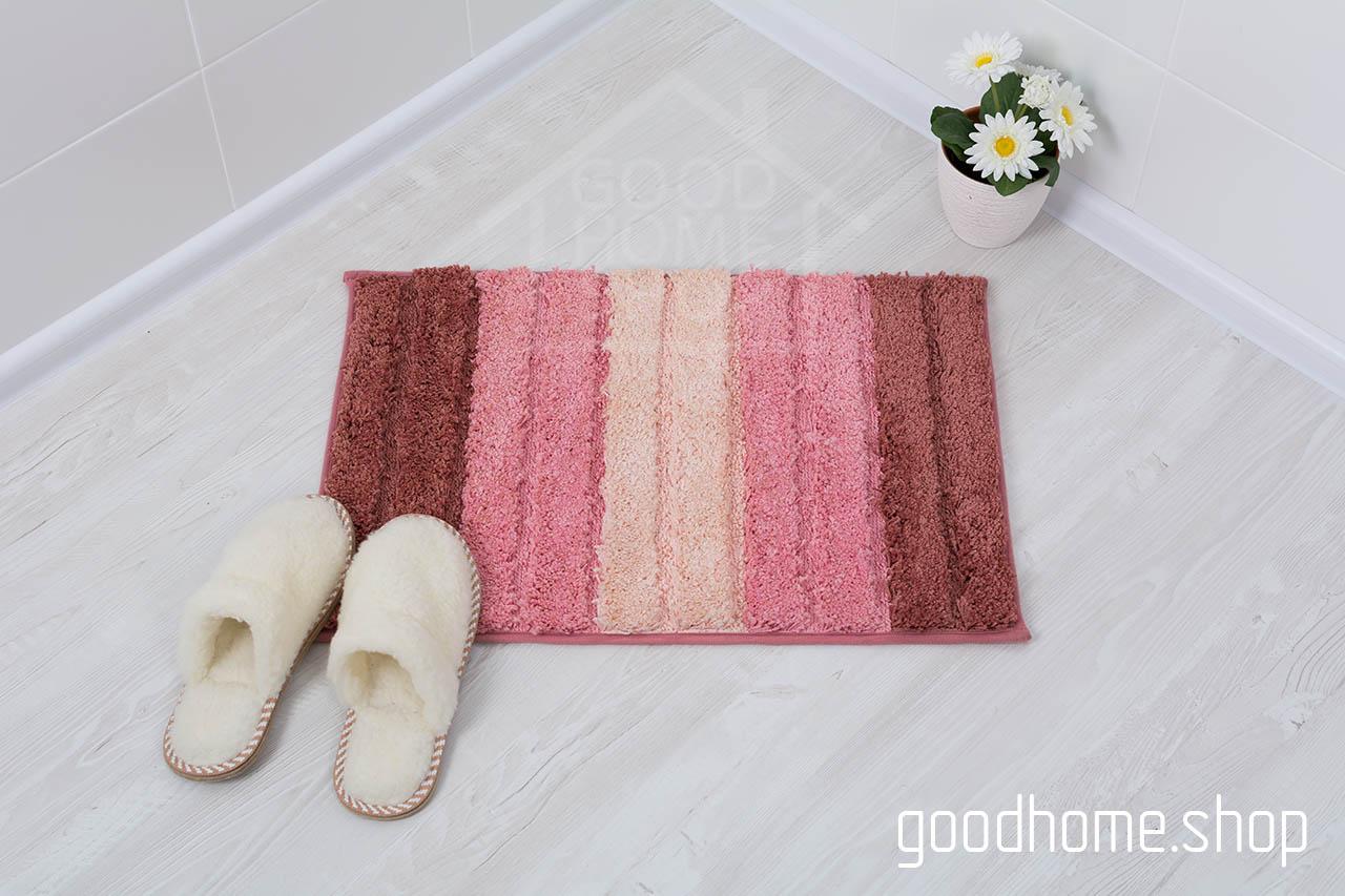Коврик для ванной Градиент розовый