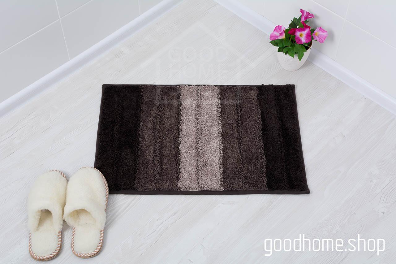 Коврик для ванной Градиент коричневый