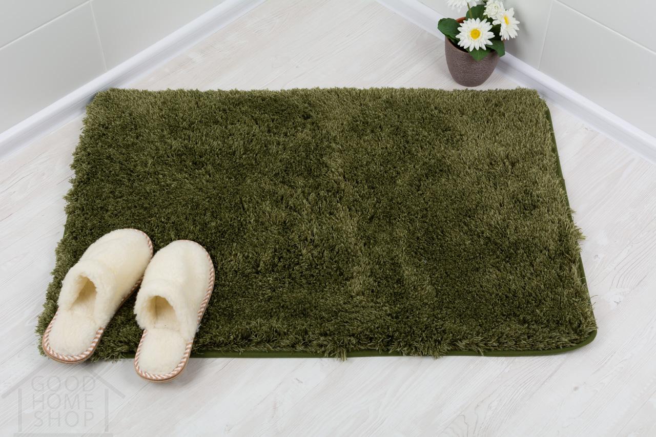 Коврик для ванной Бонд зеленый