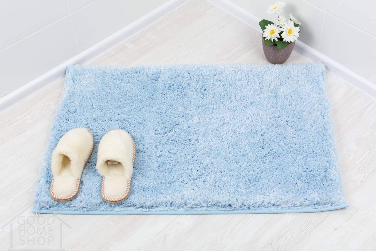 Коврик для ванной Тиволли голубой