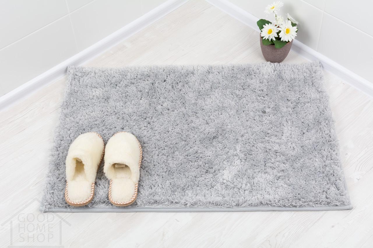 Коврик для ванной Тиволли светло - серый