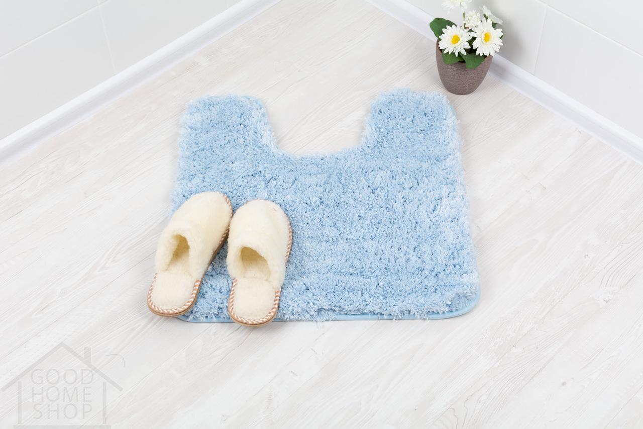 Коврик для туалета Тиволли голубой