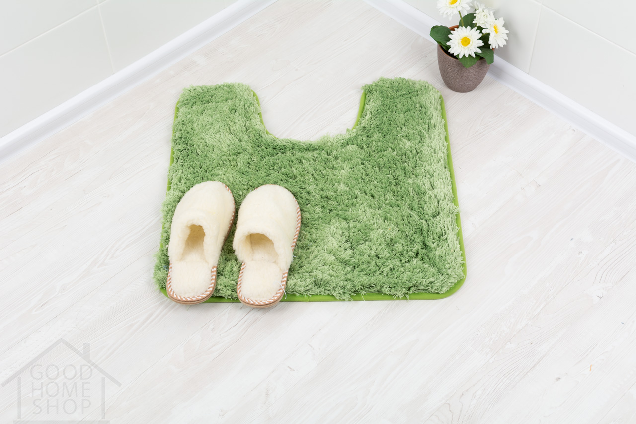 Коврик для туалета Тиволли зеленый