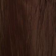 Штора для ванной двухслойная Органза коричневая