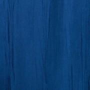 Штора для ванной двухслойная Органза тёмно синяя