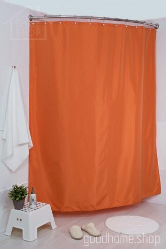 Штора для ванной СК терракот