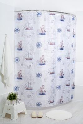 Штора для ванной Блю боатс 180x200