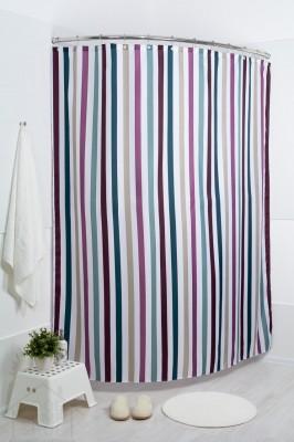 Штора для ванной Лайнс мульти 180x200