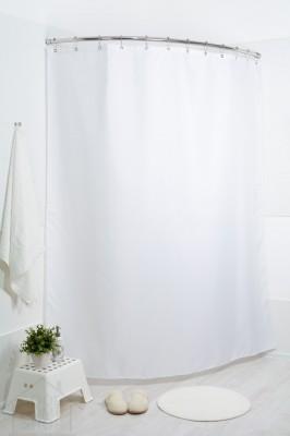 Штора для ванной  жаккард Мариана сильвер рейн 180x200