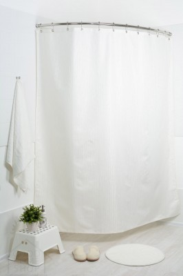 Штора для ванной  жаккард Мариана голд рейн 180x200