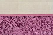 Коврик для ванной Люкс розовый