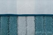 Коврик для ванной Градиент голубой