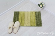Коврик для ванной Градиент зеленый