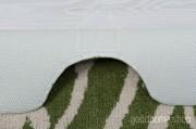 Коврик для туалета Узоры зелено - бежевый