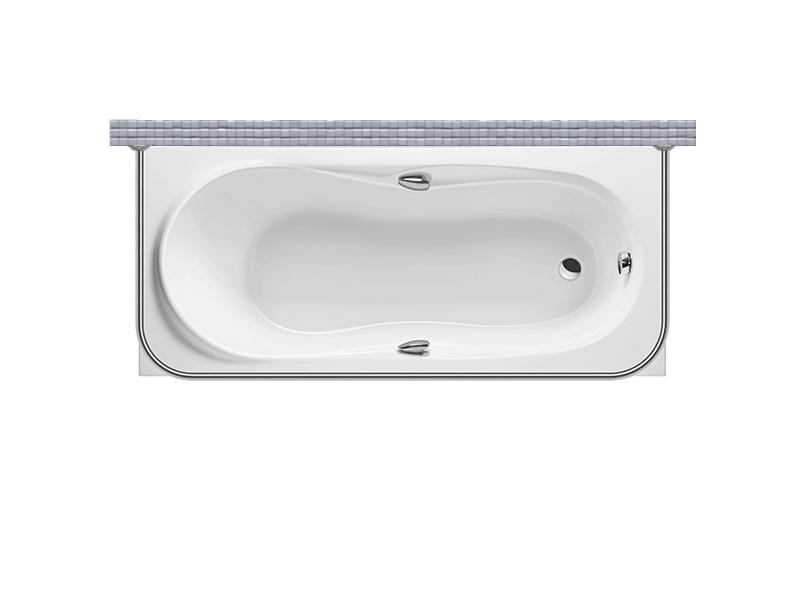 Карниз для ванной П-образный