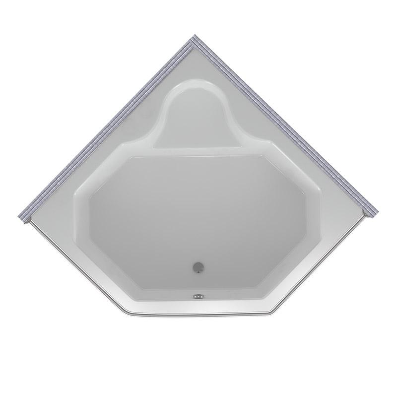 Карниз для ванной трапеция